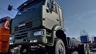 КамАЗ 6522 с самым лучшим двигателем — ЯМЗ 7511!