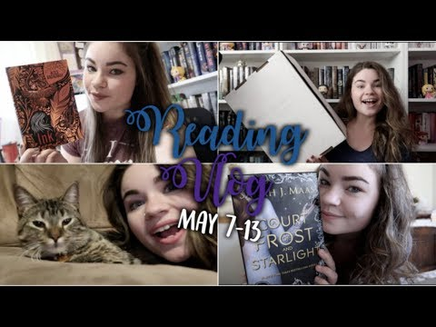 READING 4 BOOKS IN 1 WEEK | Reading Vlog: May 7-13