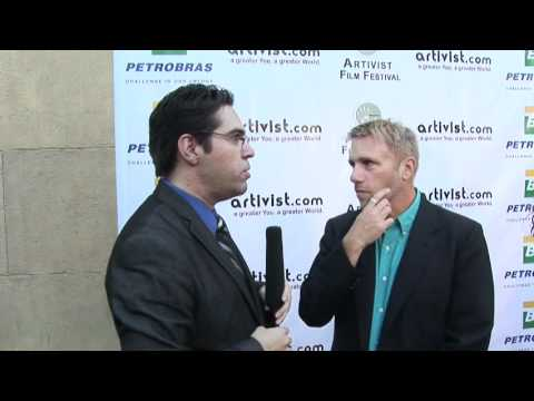 2011 - ARTIVIST FF - Red Carpet Interviews Cary Harrison of