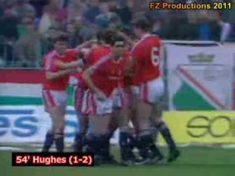 1990-91 Cup Winners' Cup: Manchester United Goals (Road to Victory)