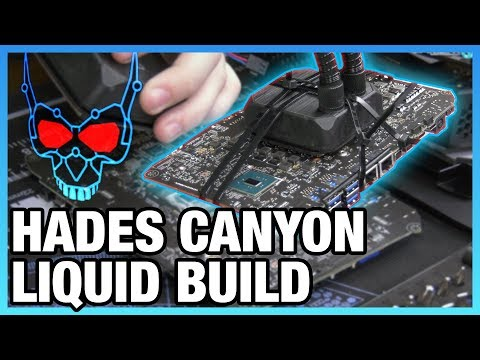Liquid Cooling Hades Canyon Mod for 5GHz Attempt (Pt 1/2