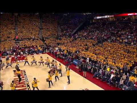 University of Maryland Flash Mob at Mens Basketball vs. Wisconsin February 24, 2015