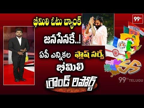 భీమిలి ఓటు బ్యాంకు జనసేనకే..! | AP Political Ground Report on Bheemili Constituency | 99TV Telugu