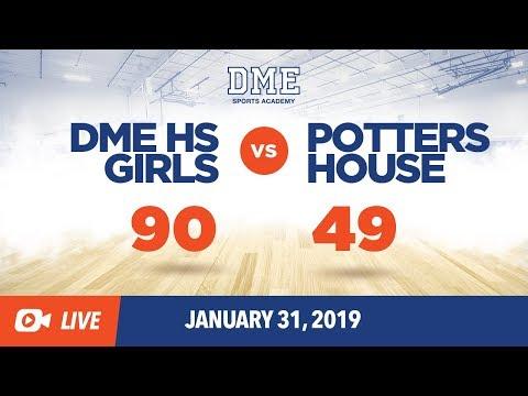 DME HS Girls vs. Pottershouse