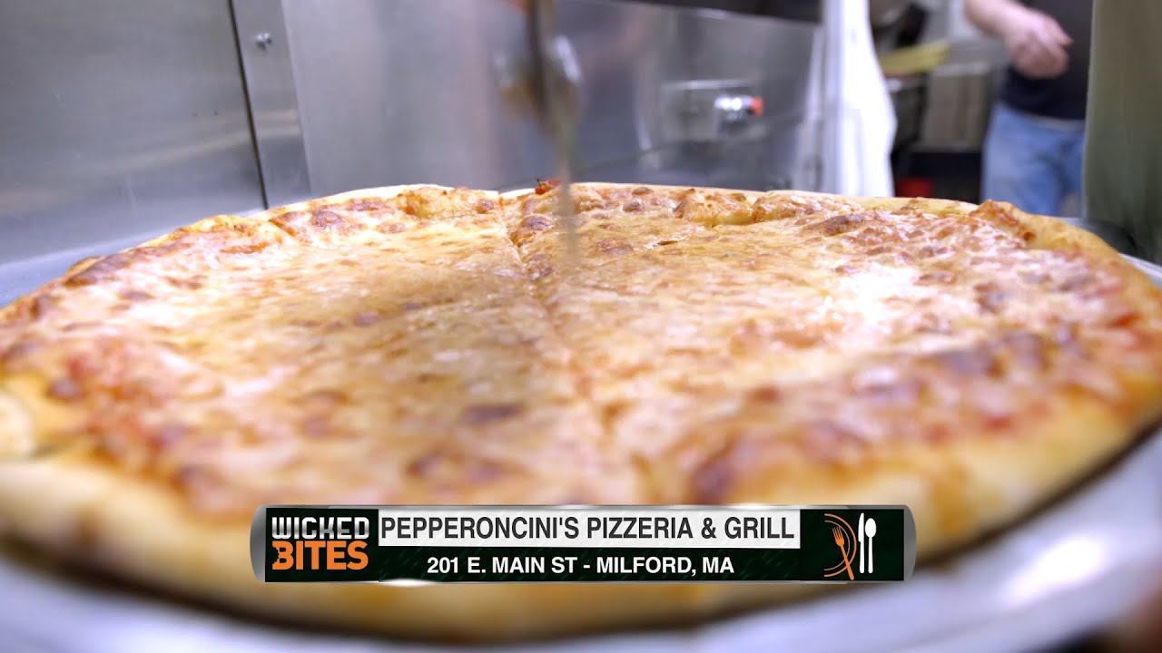 wicked bites pepperoncinis pizzeria grill milford ma - Garden Pizza Milford Ma