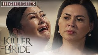 Guada begs Alice to stay for Juan Felipe | The Killer Bride  (With Eng Subs)