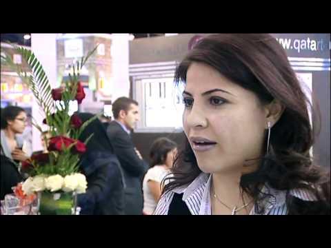 Soha Moussa, Head of Promotions & Exhibitions, Qatar Tourism Authority @ ATM 2011