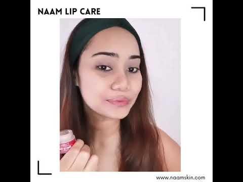 Naam Lip Care ( Naam Milky Rose Vanilla Lip Scrub + Naam Beetroot & Red Apple Lip Mask )