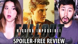 MISSION IMPOSSIBLE: FALLOUT | Non-Spoiler Review!