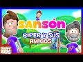 Biper y Sus Amigos - Sansón (Video Oficial 4K)
