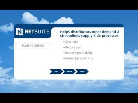 NetSuite for Wholesale Distribution - Plan to Supply
