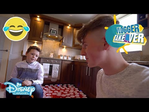 Vlogger Takeover | Pranking Brother with Red Cups | Disney Channel UK