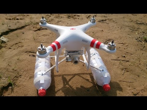 плавучесть для Phantom DJI, Phantom DJI flotation