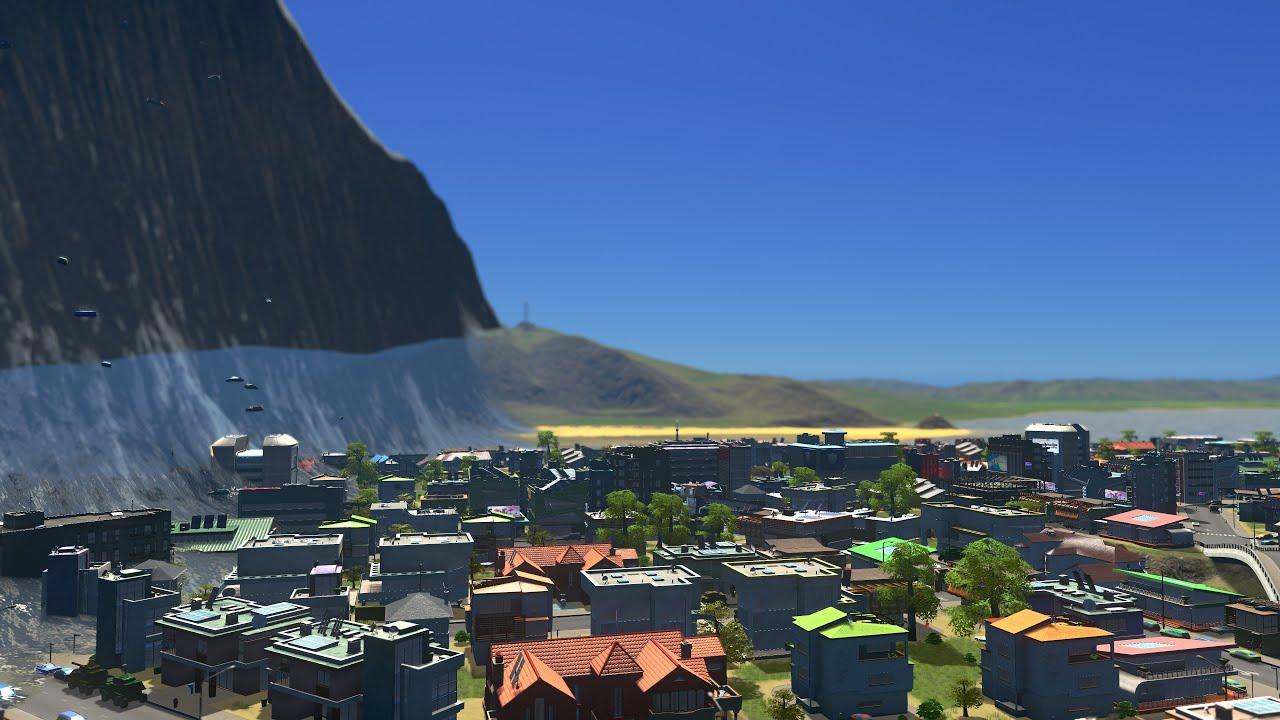 mega tsunami destroys 3 coastal villagescities skylines