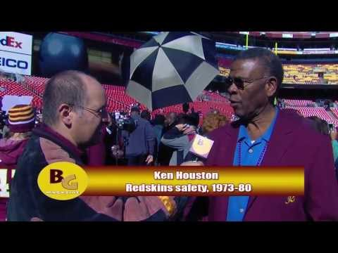 Redskins Historian Mike Richman w/ Redskins Hall of Fame safety Ken Houston