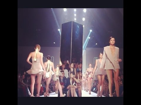 Milin ELLE FASHION WEEK 2013 AUTUMN/WINTER AT CTW (VDO BY POPPORY FASHION BLOG)