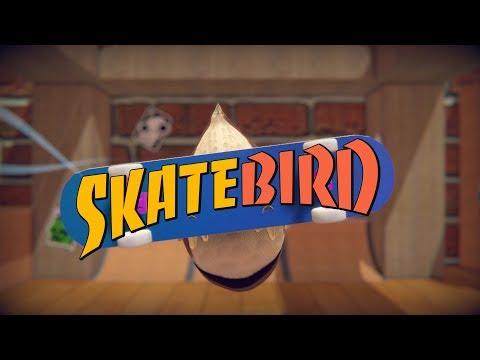 Skatebird, игра про птицу-скейтера, доступна в бесплатной альфа-версии