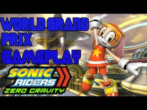 ABM: Cream the rabbit Sonic Riders Zero Gravity