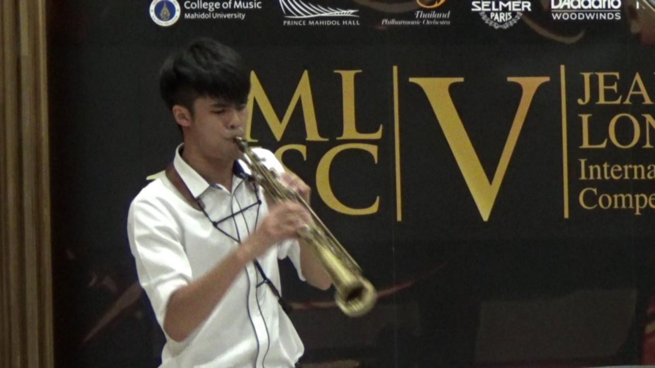 Londeix 2017 - Methawut Pimphapatang (Thailand) - XVIII Iberienne by Sigfrid Karg Elert