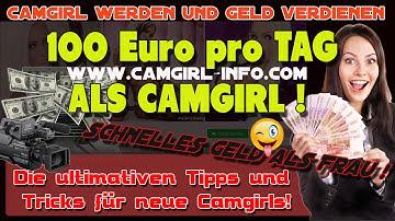 lllᐅ Camgirl werden   Camgirl Verdienst   Tipps für neue Camgirls