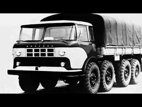 По крайней мере они попытались... Армейский вездеход КАЗ 604Б