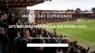 Groundhop at The Vitality Stadium - AFC Bournemouth vs. Swansea City - CYCLING TO THE GAME!