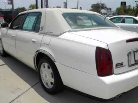 2003 Cadillac Deville Leather Cd Alloys Faux Top Youtube