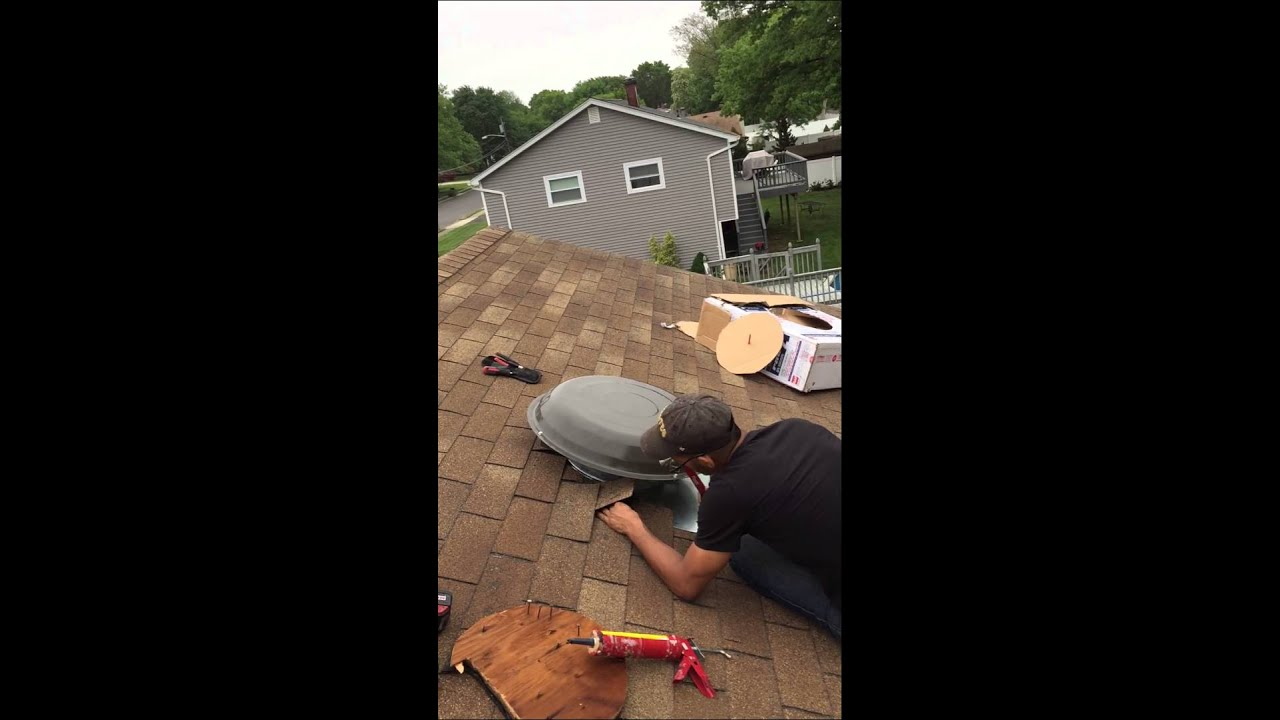 16 Pro Master Ii With Thermostat Attic Fan Installation Part 5 Whole House Motor Wiring