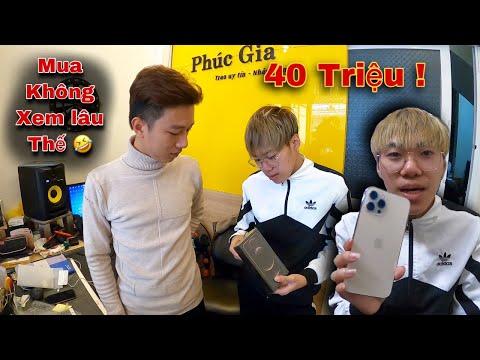Dương KC | Cầm 40 Triệu Khinh Thường Chủ Quán Điện Thoại Và Cái Kết Mua Luôn Iphone 12 Pro Max !