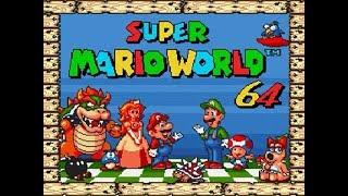 Mega Drive Longplay - Super Mario World 64
