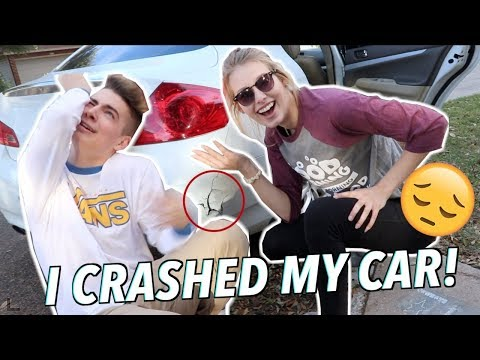 CARPOOL KARAOKE GONE WRONG (CRASHED MY CAR) w/ Maddie Welborn