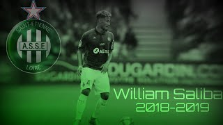 William Saliba - The Next Varane ? | SAISON 18-19 / AS SAINT-ÉTIENNE