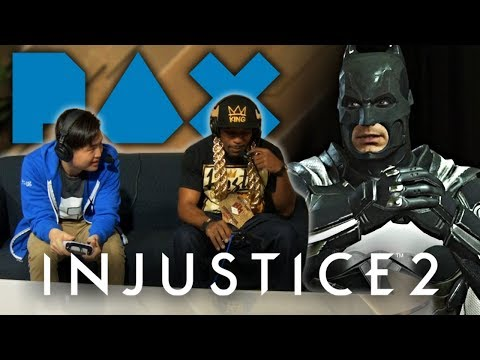Injustice 2: unCAGEDgamez VS HipHopGamer On The MAIN STAGE!! (PAX West 2018)