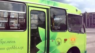 Смотреть видео У Житомирі презентували перший електроавтобус
