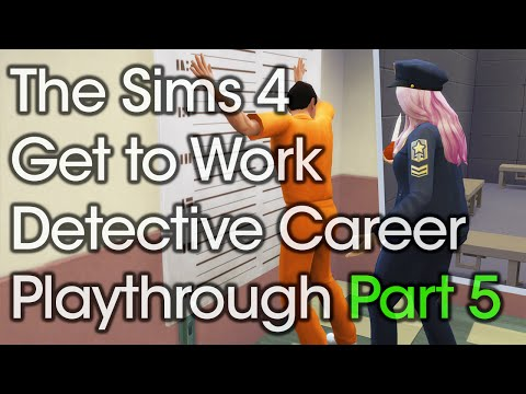 The Sims 4 Get to Work Detective Career Playthrough Part 5 | Rachybop