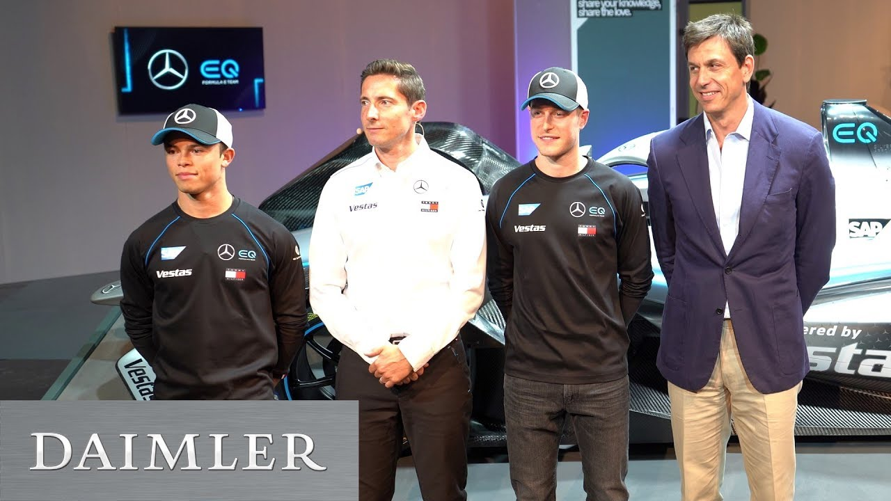 Mercedes Benz EQ Formula E | Daimler > Magazine > Technology