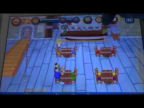 Sponge Bob Games -  Diner Dash Free Play
