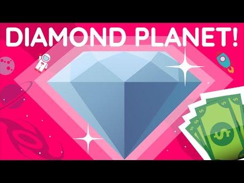 This SUPER EARTH DIAMOND Planet Is Worth 26.9 NONILLION Dollars!