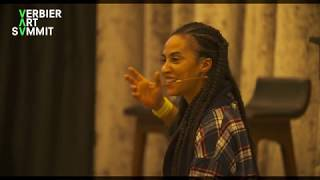 Grada Kilomba Talk at the 2019 Verbier Art Summit