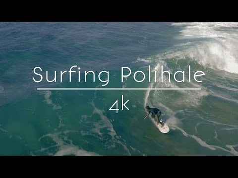Polihale Surfing - Kauai in 4k Ultra HD