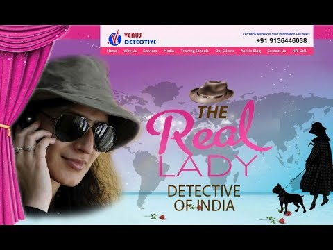 Best Female Detective Agency in India - Venus Detective