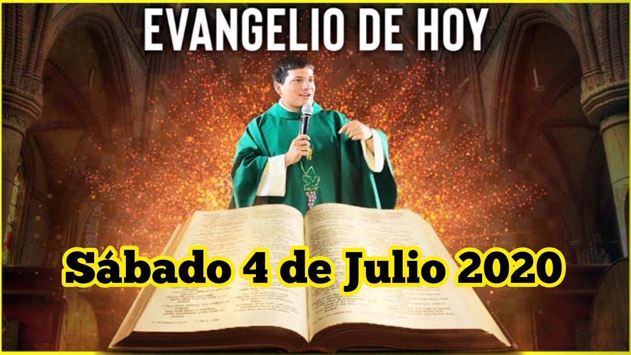 EVANGELIO DE HOY Sabado 4 de Julio de 2020 con el Padre Marcos Galvis