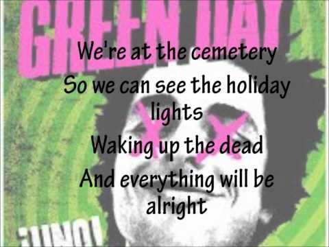 Angel Blue - Green Day (LYRICS)