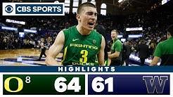 #8 Oregon vs Washington Highlights: The Ducks rally in 64-61 overtime win | CBS Sports