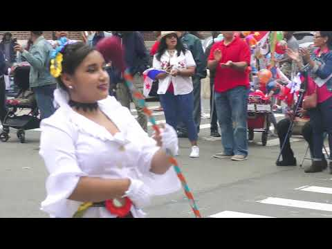 Panamanian Day    PARADE ------    THE BANDS  Pt 1