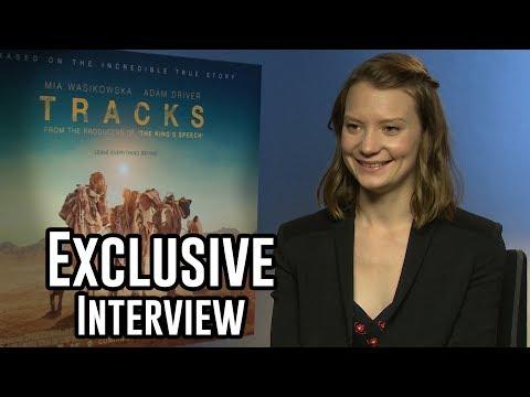 Mia Wasikowska - Tracks Exclusive Interview