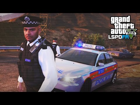 GTA 5 LSPDFR - LONDON POLICE BMW PATROL! - The British way #91