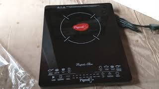 Pigeon Rapido Slim 2100-Watt Induction Cooktopunboxing.....