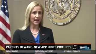"""Rutledge Offers Warning to Parents About """"Secret"""" Apps"""