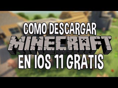 descargar minecraft gratis ios 11